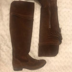 Frye Clara Foldable over the knee boot